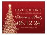 Save the Date Email Template Christmas Party Elegant Save the Date Christmas Party Red Post Cards