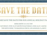 Save the Date Email Template Christmas Party Free Save the Date Invitations and Cards Evite