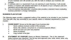 Sba Business Plan Template Pdf 9 Sample Sba Business Plan Templates Sample Templates