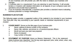 Sba.gov Business Plan Template 9 Sample Sba Business Plan Templates Sample Templates