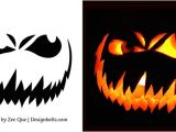 Scary Jack O Lantern Face Template 10 Free Scary Halloween Pumpkin Carving Patterns