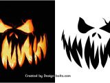 Scary Jack O Lantern Face Template 10 Free Scary Halloween Pumpkin Carving Patterns Stencils