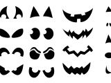 Scary Jack O Lantern Face Template Jack O Lantern Shirt Stencils Craft Buds