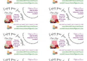 Scentsy Avery Label Template My Scentsy Labels Tags Sample Labels Using Avery T Youtube