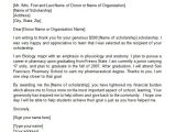 Scholarship Email Template Sample Thank You Letter for Nursing Scholarship Google
