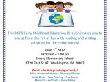 School Annual Day Card Invitation Dc Public Schools Stayhomedc On Twitter Dcps Early