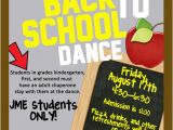 School Dance Flyer Template Joseph Martin Elementary School