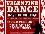 School Dance Flyer Template Valentines Dance Template Postermywall