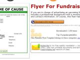 School Fundraiser Flyer Templates 5 Free Fundraiser Flyer Templates Af Templates