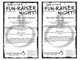 School Fundraiser Flyer Templates 6 Best Images Of Benefit Fundraiser Flyer Template