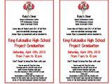 School Fundraiser Flyer Templates King Kekaulike High School Project Graduation Fundraiser Flyer