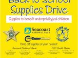 School Supply Drive Flyer Template Free 1000 Images About Fundraising and Drives On Pinterest