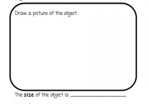 Science Observation Template the Very Busy Kindergarten My Science Center