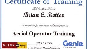 Scissor Lift Certification Card Template Uci sound Design Ironic No