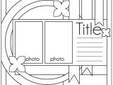 Scrapbook Layout Templates 12×12 Ideas for Scrapbookers Two Sketches and A Template