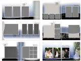 Scrapbook Layout Templates 12×12 Scrapsimple Digital Layout Album Templates Modern Elegance