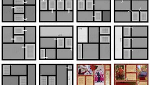 Scrapbook Layout Templates 12×12 Scrapsimple Digital Layout Album Templates Picture A Day
