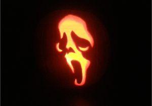 Scream Pumpkin Template Ghostface Scream Pumpkin Carving by Pr0genit0r On