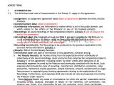 Screen Printing Contract Template Producer Contract Template Pro Producer