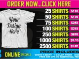 Screen Printing Flyer Templates Bold Shirts Excellent Screen Printing Quality at An