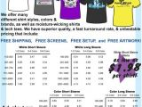 Screen Printing Flyer Templates Flyer without 666 From Standard Screen Printing In Clinton