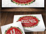 Secret Santa Flyer Templates Secret Santa Holiday Bash V3 Flyer by Viral Legacy