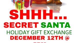 Secret Santa Flyer Templates Secret Santa Holiday Gift Exchange Postermywall