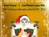 Secret Santa Flyer Templates Secret Santa Poster Template Postermywall