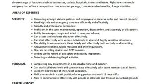Security Guard Resume format In Word Security Guard Resume 7 Free Download Free Documents In