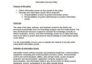 Security Proposal Templates 10 Policy Proposal Templates Sample Templates