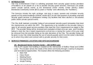 Security Proposal Templates 10 Security Proposal Examples Samples
