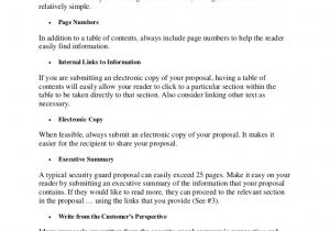 Security Proposal Templates 20 Tips to Writing A Quality Security Guard Proposal