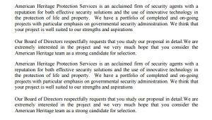 Security Proposal Templates Service Proposal Template 14 Free Word Pdf Document