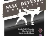 Self Defense Flyer Template Self Defense Workshop Flyer Work Pinterest Flyers