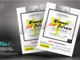 Self Defense Flyer Template Woman 39 S Self Defense Flyer Templates by Kinzi21 Graphicriver