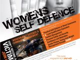 Self Defense Flyer Template Womens Self Defence Course Poster Design Www Flyer