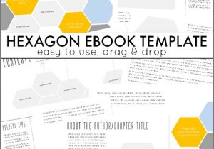 Self Publishing Book Templates Hexagon Ebook Template and Next Comes L