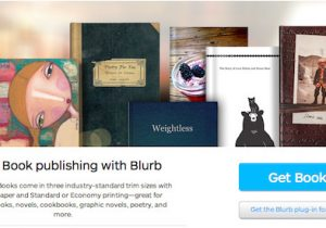 Self Publishing Book Templates New Self Publishing Options From Blurb and Book Design