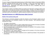 Selling A Small Business Contract Template Business Contract Template 7 Free Word Pdf Documents