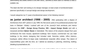 Senior Architect Cover Letter Faisal Arshad Cover Letter Jan 09fnl