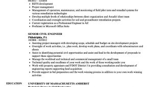 Senior Civil Engineer Resume Sample Senior Civil Engineer Resume Samples Velvet Jobs