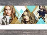 Senior Photo Collage Templates Facebook Cover Template Senior Photography Diamond