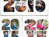 Senior Photo Collage Templates Word Collage Set 20×10 11×14 12×12 Class Of 2017