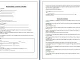 Senior Photography Contract Template whether You are Photographing A Wedding Birthday Party
