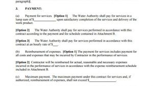 Service Agreement Contract Template 16 Service Contract Templates Word Pages Google Docs