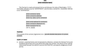 Service Contract Agreement Template 50 Professional Service Agreement Templates Contracts