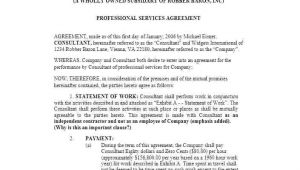 Service Contract Template Canada Computer and Network Systems Service Level Agreement