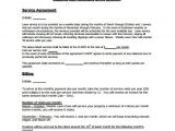Service Contract Template Pdf Lawn Service Contract Template 11 Download Documents In