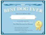 Service Dog Certificate Template Service Dog Certificate Template 6 Best Templates Ideas