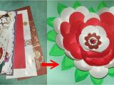 Shaadi Ke Card Ke Flower Shadi Ke Card Se Phool Kaise Banaye How to Make Flower for Old Marriage Card Arts son Megicul